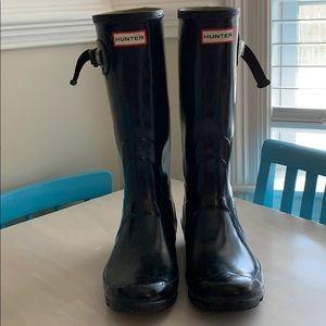 COPY - Hunter Huntress Gloss Rain Boots